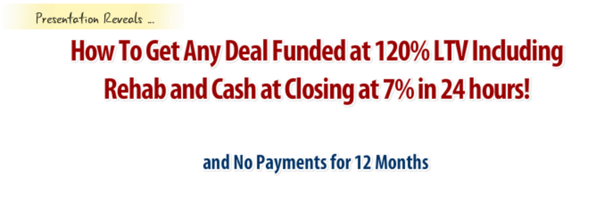 UFM - How to Get access to unlimited 120% funding - Real Estate CPR